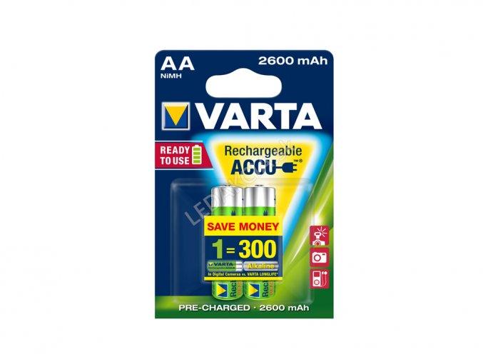 Varta akumulatorki AA 2600mAh R2U 2x