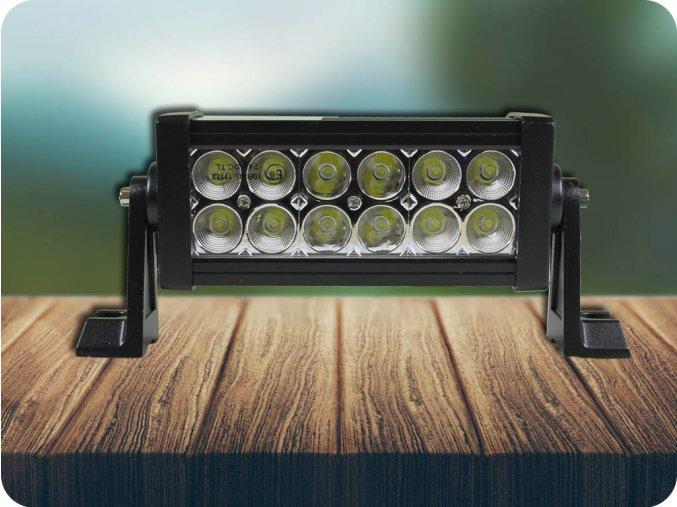 LED Lampa robocza led 36W, 2800 lm, 12 LED, IP67