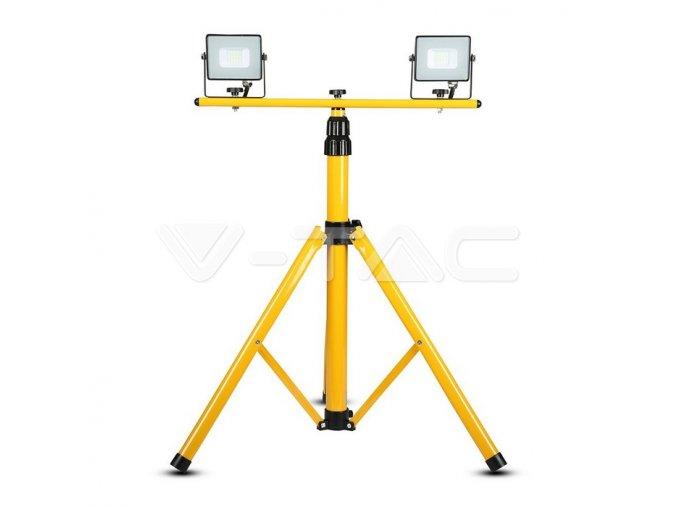 Statyw do naświetlaczy LED 3x, żółty
