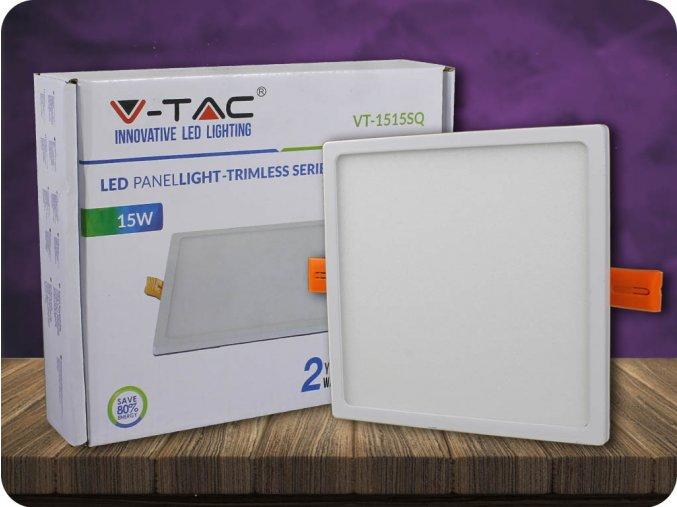 Panel LED 15W (1500LM), kwadratowy