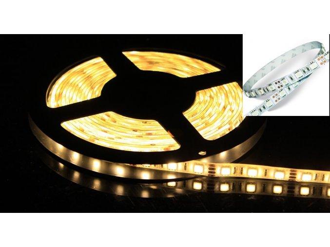 LED Taśma 9W/m, SMD 5050, 60 LED/M, IP20