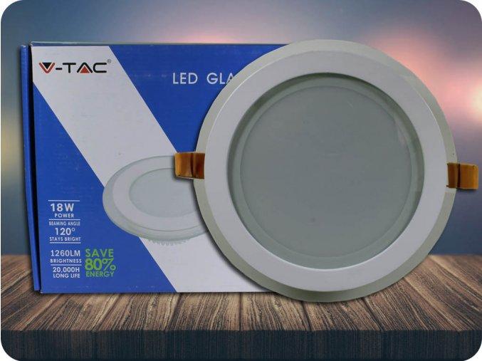 Panel LED 18W (1260lm), okrągły