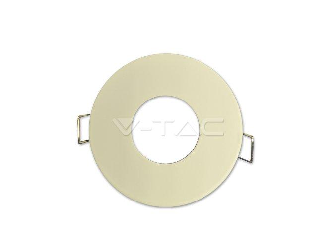 Oprawa na GU10, okrągła, biała,