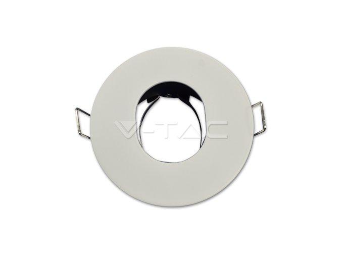Oprawa  na GU10, okrągła, biała - matowa