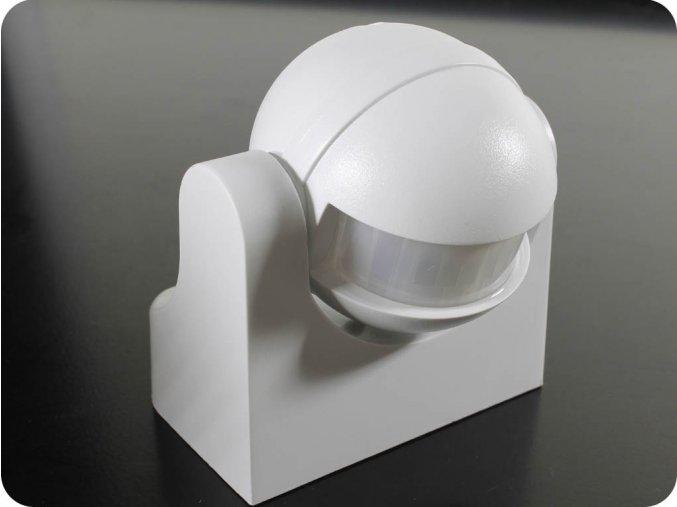 Infraczerwony czujnik ruchu, 180 °, IP44, biały