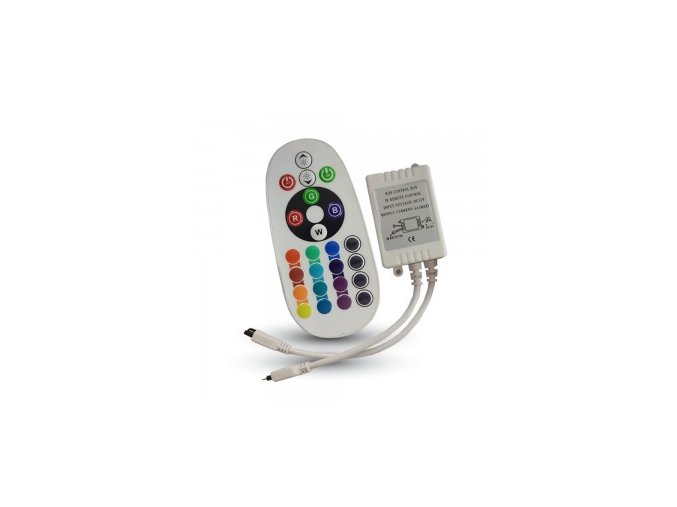 Kontroler LED RGB  z pilotem