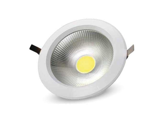 COB LED lampa podtynkowa 40W, premium, A++