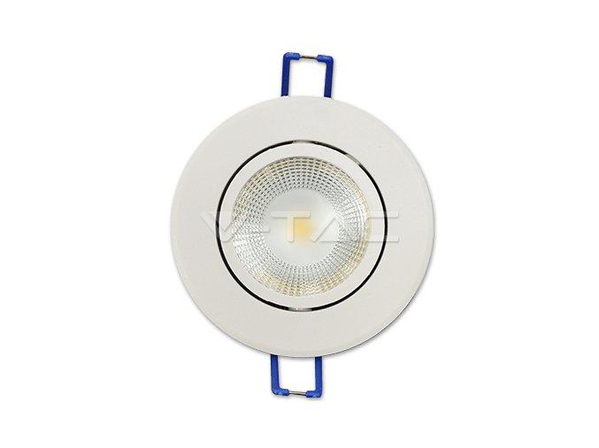 COB LED Lampa podtynkowa 5W