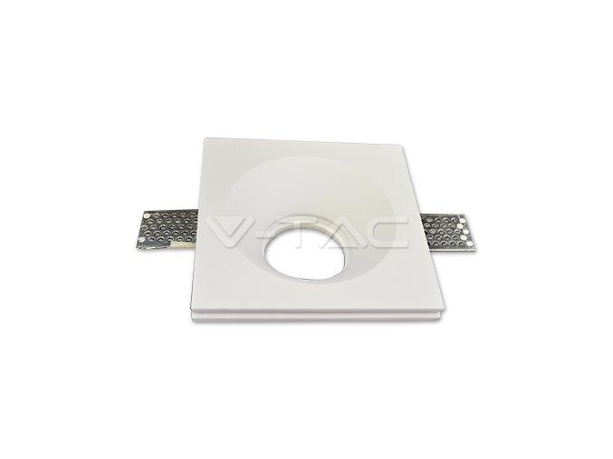 Oprawa na GU10/GU5.3, kwadrat, biała