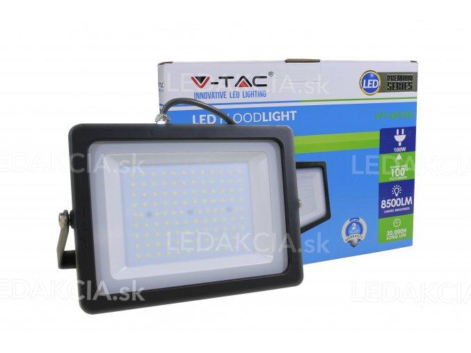VT-49100, Naświetlacz LED 100W, 8500 LM, czarny