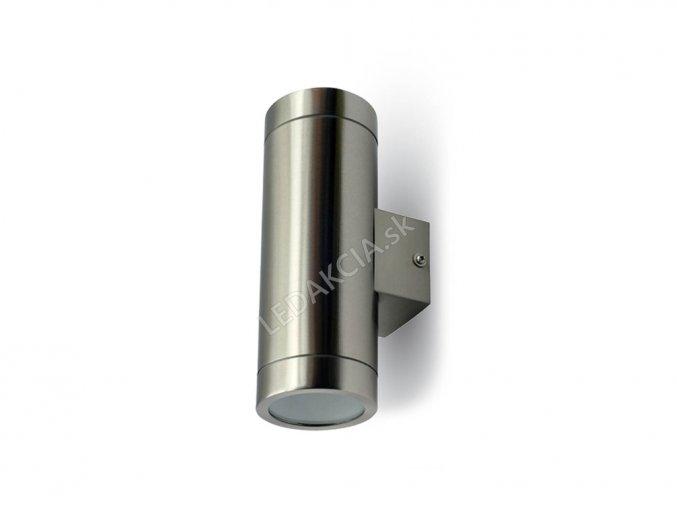 Lampa ścienna kinkiet GU10 LED, podwójna