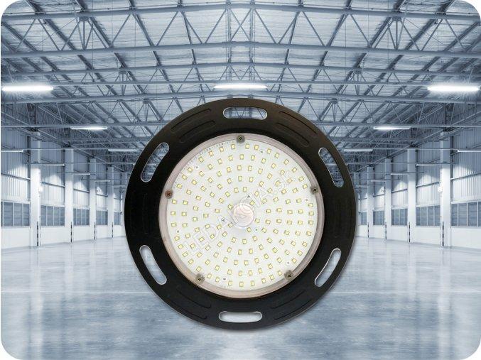VT-9120 LED NAŚWIETLACZ  UFO, 100W, 12 000 LM, CZARNY