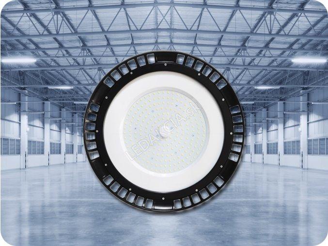 PRZEMYSŁOWY LED NAŚWIETLACZ UFO 150W (19500LM), HIGH BAY, A++, 90°