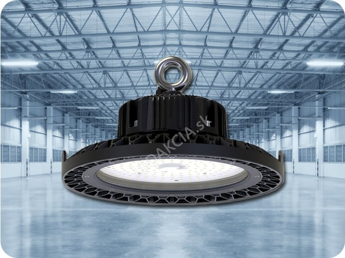 PRZEMYSŁOWY LED NAŚWIETLACZ UFO 200W (26000LM), HIGH BAY, A++, 90°
