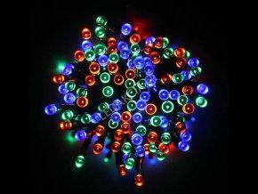 OŚWIETLENIE ŚWIĄTECZNE LED 100 RGB DIOD, 230V