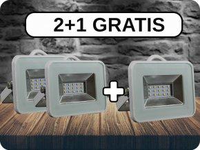 LED NAŚWIETLACZE 10W (850 LM), I-SERIES, 2+1 GRATIS!