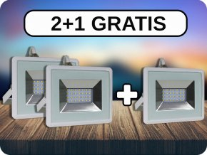 LED NAŚWIETLACZE 20W (1700 LM), I-SERIES, 2+1 GRATIS!