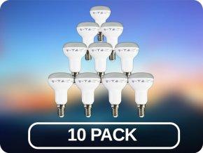 10 PACK - E14 Żarówki LED 6W (400 lm), R50