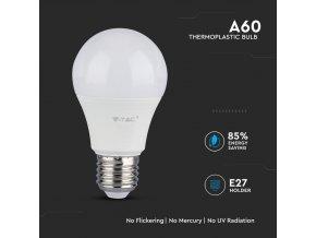 E27 LED ŻARÓWKA 9W (806 LM), A58, SAMSUNG CHIP - GWARANCJA 5 LAT! (Barwa Swiatla Zimna biała    6400K)