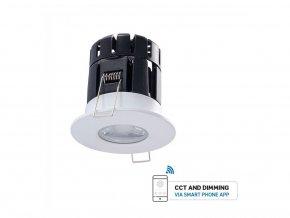 LED COB LAMPA PODTYNKOWA 10W (850LM), BLUETOOTH, IP65, ŚCIEMNIALNA