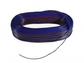 PRZEWÓD RGB, 4-ŻYŁOWY, 4x0,35mm, 1m