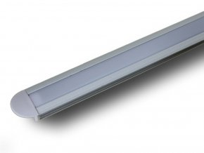 Aluminiowy profil 2M do Taśm LED, 24,5x12,2mm