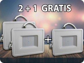 LED NAŚWIETLACZ 50W (4000LM), SAMSUNG CHIP - GWARANCJA 5 LAT, 2+1 GRATIS!