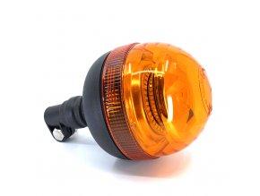 LED lampa ostrzegawcza 20W, 12-24V, pomarańczowa
