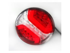 Tylna lampa 34xLED do ciężarówki, 12-24V, lewa + prawa