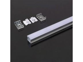 12179 aluminiowy profil pcb 20mm 2000x17 2x15 5 mm bia y