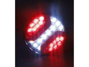 Tylna lampa 24xLED do ciężarówki, 12-24V, lewa albo prawa