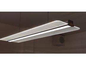 LED Panel przezroczysty 40W (3200 lm), 121x32cm, z zasilaniem, 4000K
