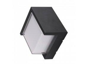 Lampa ścienna / sufitowa LED 12W (650lm), IP65, kwadratowa