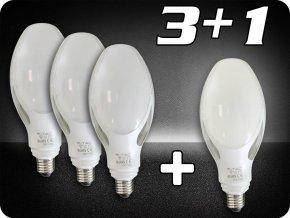 E27 Żarówka LED 40W, 3+1 Gratis