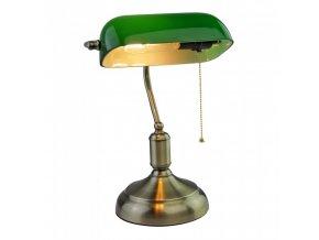 LED LAMPKA BIURKOWA E27, maks. 60W, zielona