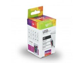 Żarówka LED GU10 RGB + W 3W (270Lm)