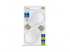 Żarówki LED E27 9W (806Lm), 2 szt., A60