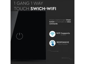 13091 8 1 touch przycisk inteligentny prze cznik wifi kompatybilny z amazon alexa google home