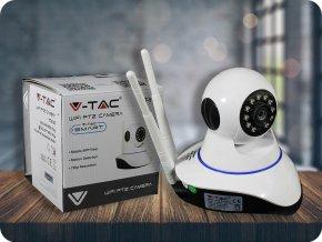 Dwukierunkowa kamera audio WiFI 720P IP, tryb nocny