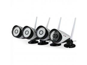 Kompletny zestaw kamer WiFI 1080P P2P NVR