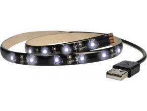 Taśma LED do telewizora, 100 cm, USB, przełącznik zasilania