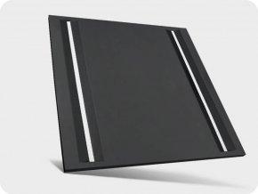 15932 2 panel led 44w algine line z zasilaczem 60x60cm 5300lm czarny
