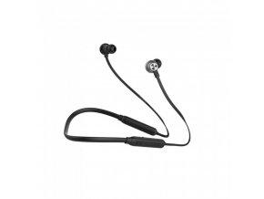 Sportowe słuchawki głośnomówiące Bluetooth, 500mAh, czarne