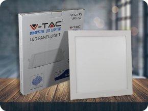 Wbudowany panel LED 24W z zasilaczem,  kwadratowy (2000Lm), SAMSUNG Chip