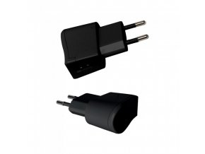 Adapter podróżny USB, czarny