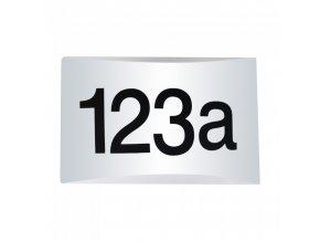 Kinkiet do oznaczania adresu z czujnikiem światła, 10W, 800lm, Samsung chip, IP54