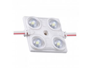 Moduł LED SMD2835, 1,44W (120lm), 4xLED, IP68, 160°, czerwony