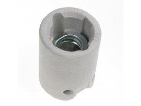 Ceramiczna oprawka żarówki z uchwytem E14