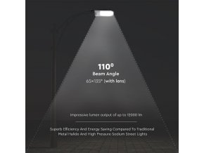 Lampa uliczna LED 30W (3000Lm), 110°, SAMSUNG chip