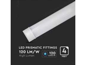 LED NATYNKOWA OPRAWA LINIOWA 40W (4200LM), 120CM, SAMSUNG CHIP - 2+1 GRATIS! #